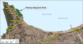 Locality Map Meelup Park