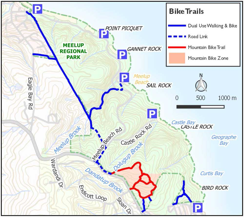 Meelup Park Mountain Bike Trails v2